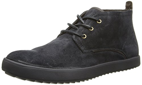 Hush Puppies Men's Frankie Roadside Chukka Boot,Black,10.5 M US