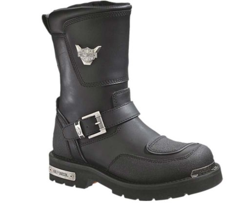 Harley-Davidson Men's Shift Motorcycle Boot,Black,9.5 M US