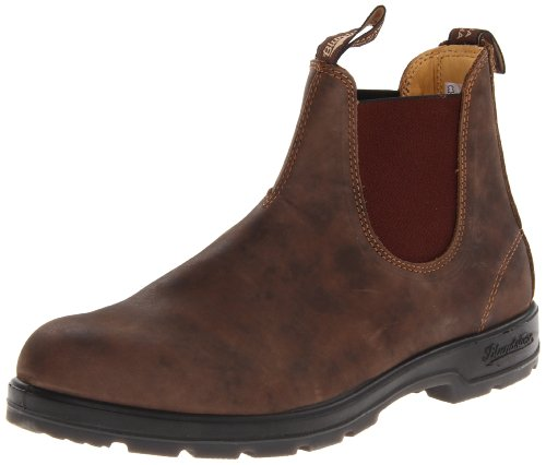 Blundstone Men's BL585 Rustic Ankle Boot,Rustic Brown, 9.5 UK/10.5 M US