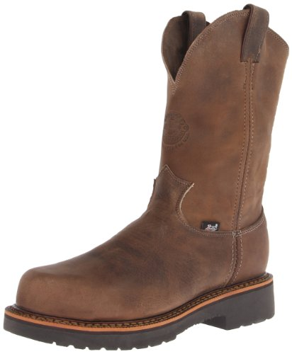 Justin Original Work Boots Men's Jmax PN CT Composite Work Boot,Tan/Crazy Horse,9 D US