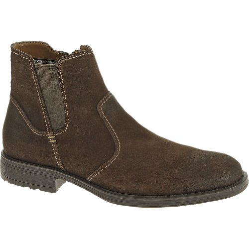 Hush Puppies Men's Plane Jodphur Plain Toe Boots,Brown,12 M