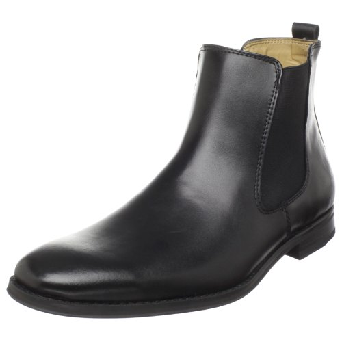 Bass Men's Amsterdam Ankle Boot,Black,10 M US
