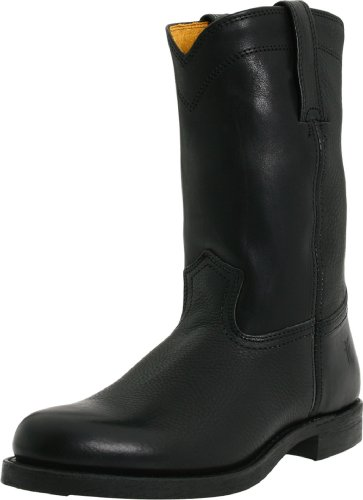 FRYE Men's Roper 10R Boot Black 10.5 M US