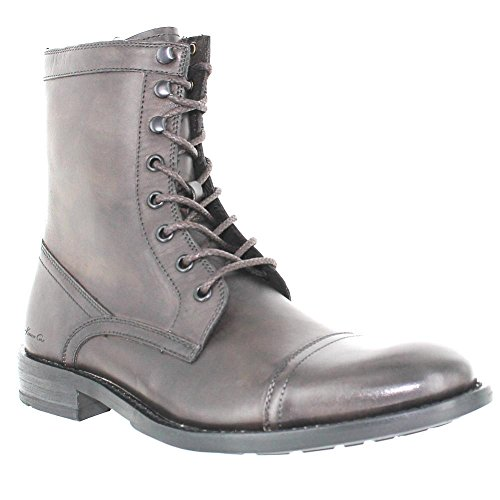 Kenneth Cole New York Mens Cross My Mind Lace Up Boot Shoe, Dark Taupe, US 10.5