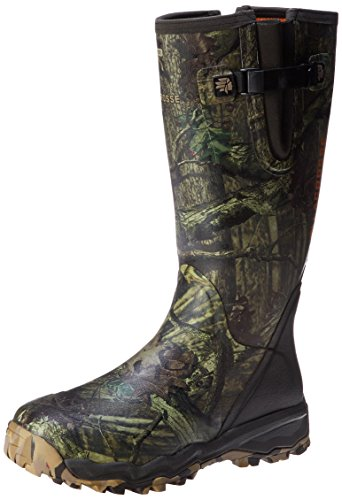 LaCrosse Men's Alphaburly Pro 18″ Side Zip Hunting Boot,Mossy Oak Break-Up Infinity,10 M US