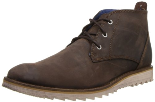 Mark Nason by Skechers Men's Ampthill Chukka Boot,Dark Brown,11.5 M US
