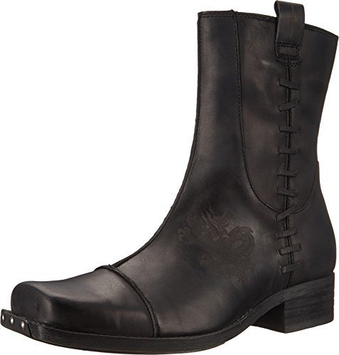 skechers mens leather boots