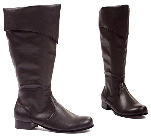 121-BERNARD 1″ Boot Black Mens Large (12-13)