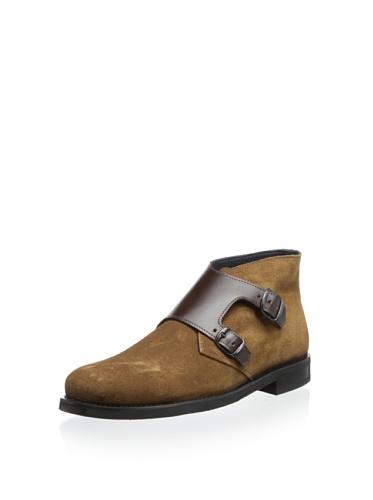 The Generic Man Men's Monkman Mid Boot, Camel/Brown, 8 M US