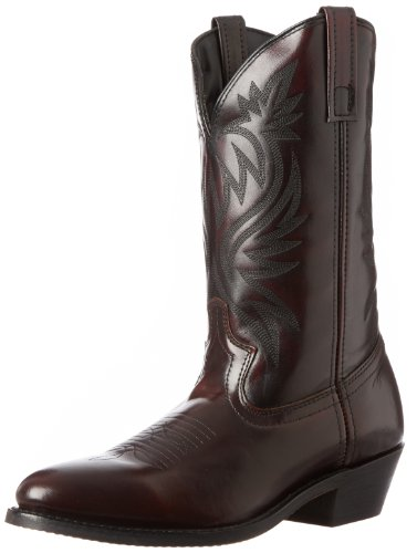 Laredo Men's London Western Boot,Black Cherry,10.5 D US