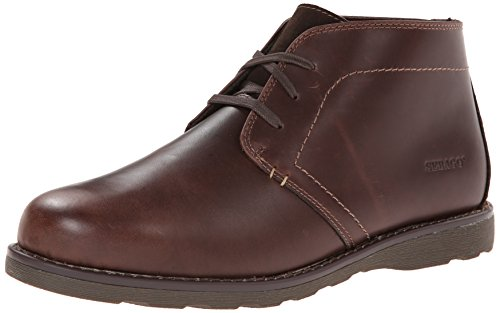 Sebago Men's Reese Chukka Boot, Dark Brown, 9.5 M US