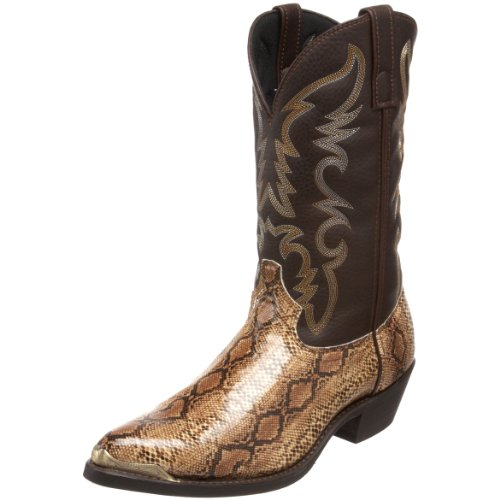 Laredo Men's 68068 Monty Western Boot,Brown/Copper,11 XW US