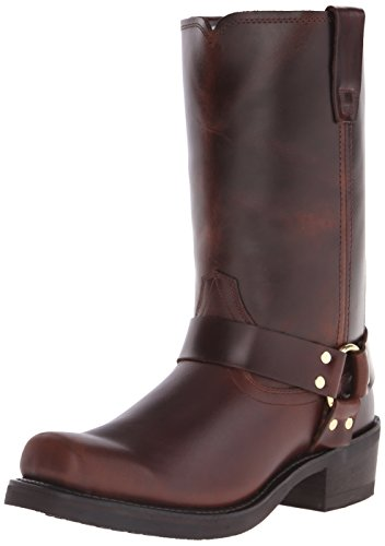 Durango Men's DB514 11″ Harness Boot,Rubbed Brown,9.5 W US