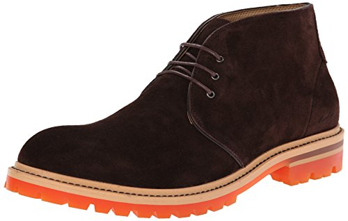 Kenneth Cole New York Men's Strobe Lights Suede Chelsea Boot,Brown,9.5 M US