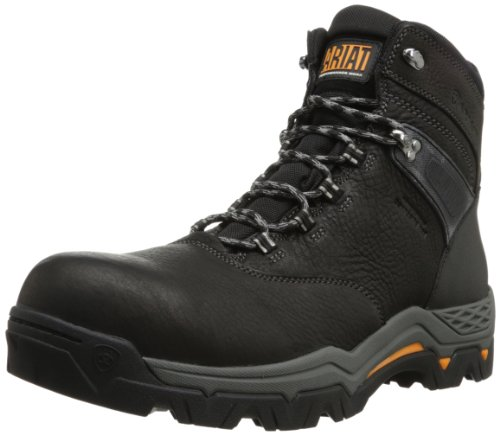 Ariat Men's Trek 6 Inch H2O Boot,Black,7 2E US