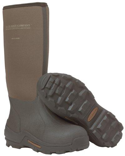 Men's Muck Boot Company Waterproof Wetland Rubber Hunting Boots Bark, BARK, 9M