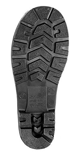 Tingley Men's 15″ Economy PVC Boot Steel Toe,Black,US 12 M