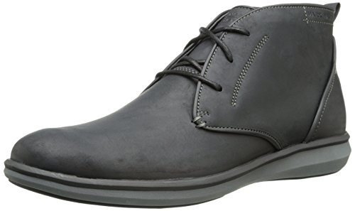 Mark Nason by Skechers Men's Dewsbury Chukka Boot,Black Leather,9 M US