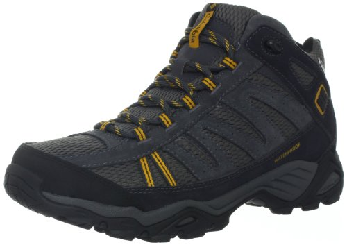 Columbia Men's North Plains Mid Wateproof Hiking Boot,Charcoal/Gallion,11 M US
