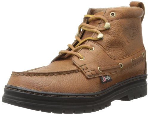Justin Boots Men's Causal Chukka Boot,Copper Grizzly Black Thermal Plastic Rubber,11.5 M US