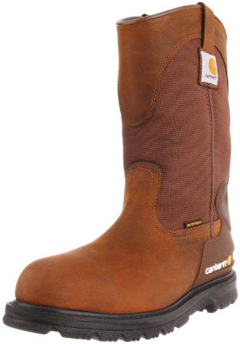 Carhartt Men's CMP1100 11 Wellington Work Boot,Bison Brown Oil Tan,10 M US