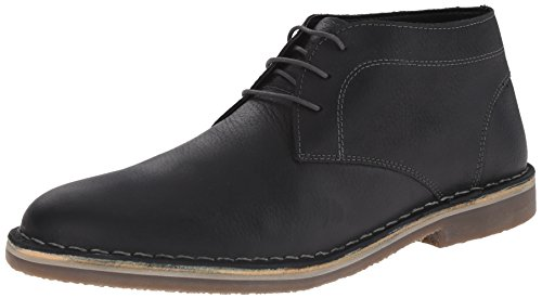 Kenneth Cole REACTION Men's Desert Canyon Chukka Boot, Black, 9.5 M US