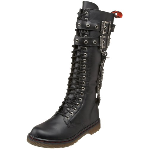 Pleaser Men's Disorder-403 Boot,Black Polyurethane,8 M US