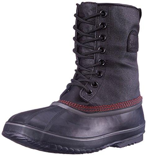 Sorel Men's 1964 Premium T CVS Boot, Black/Sail Red, 11 M US