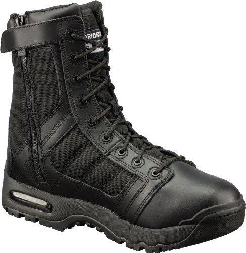 Original S.W.A.T. Men's Metro Air 9 Inch Side-zip Tactical Boot, Black, 9.5 D US