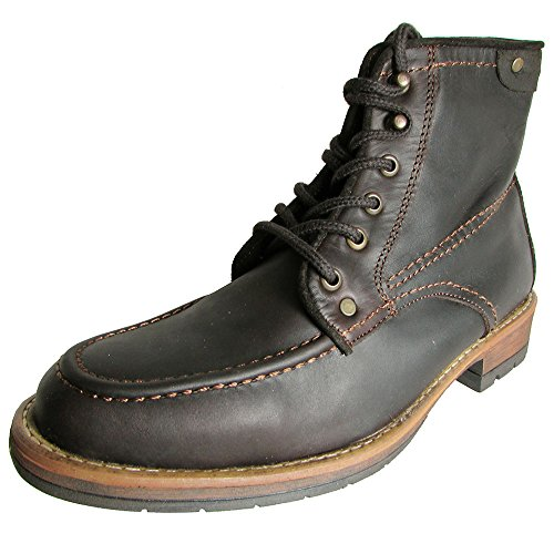 Steve Madden Men's Newburgh Boot,Dark Brown,8 M US