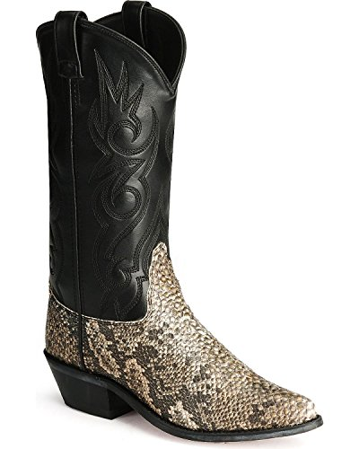 Old West Men's Snake Printed Cowboy Boot