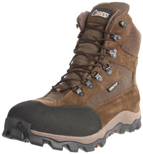 Rocky Men's Blizzard Stalker Pro Hunting Boot,Brown/Mossy Oak,12 M US