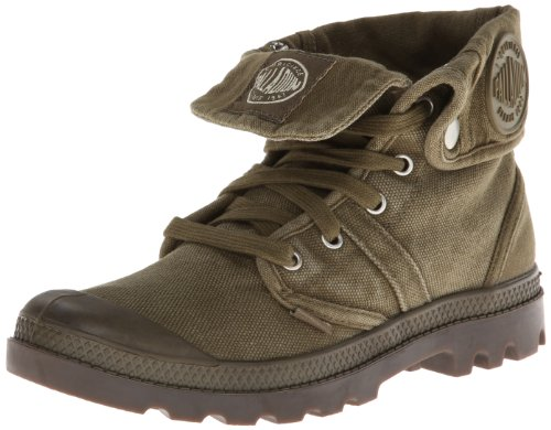 Palladium Men's Pallabrouse Baggy Dark Olive/Dark Gum Boot 10 M