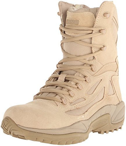 Reebok Men's Rapid Response RB8895 Security Friendly ,100% Non metallic  Boot,Desert Tan,12 M US