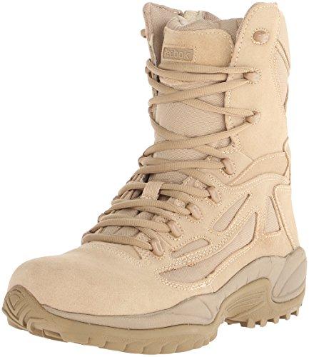 Reebok Men's Rapid Response RB8895 Security Friendly ,100% Non metallic  Boot,Desert Tan,12 M US