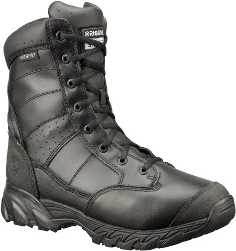 Original S.W.A.T. Men's Chase 9 Inch Waterproof Tactical Boot, Black, 11 D US