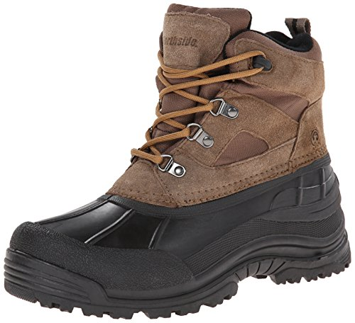 Northside Men's Tundra Lace-Up Cold Weather Boot,Bark,10 M US