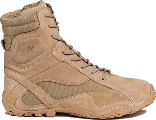 Tactical Research TR360 Men's Khyber 8-in Hybrid Tactical Boot Tan 9 W US