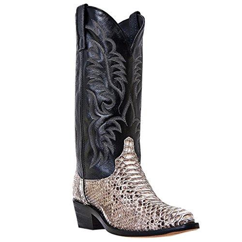 Laredo Men's 13″ Snake Python Cowboy Boots