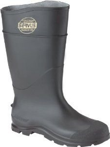Honeywell Safety 18822-14 Servus CT Economy Hi Boot for Men's, Size-14, Black