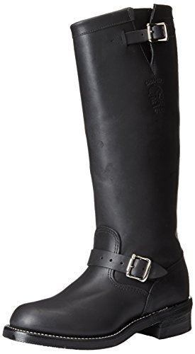 Chippewa Men's 17 Inch Odessa Engineer Boot Boot,Black,9 D US