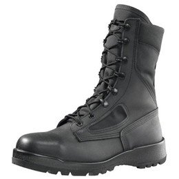 Belleville 300TROPST Men's 8-in ST EH Tactical Boot Black 12 W US