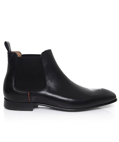 Paul Smith Shoes Leather Falconer Chelsea Boots Black US8 / UK7