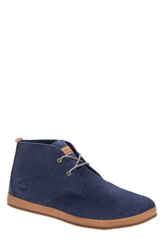Timberland Men's Woodcliff Chukka Boot,Navy,9 M US