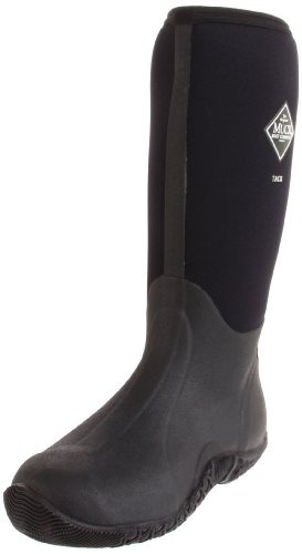 The Original MuckBoots Adult Tack Classic Hi-Cut Boot,Black,8 M US Mens/9 M US Womens