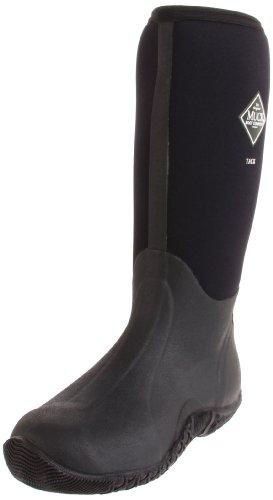 The Original MuckBoots Adult Tack Classic Hi-Cut Boot,Black,8 M US Mens/9 M US Womens