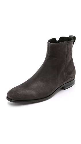Vince Men's Andes Suede Chelsea Boots, Heather Carbon, 11 D(M) US