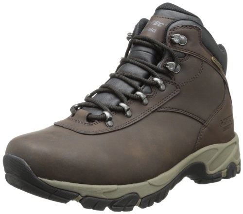 Hi-Tec Men's Altitude V I WP Hiking Boot,Dark Chocolate/Dark Taupe/Black,10 M US
