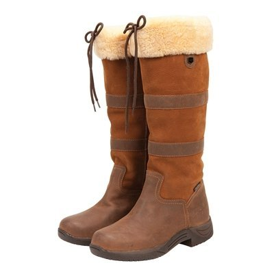 Dublin Eskimo Fleece Boot – 7.5 – Chocolate Brown