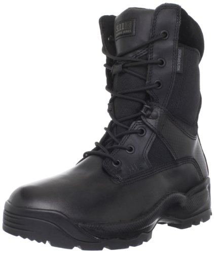 5.11 Men's A.T.A.C. Storm 8″ Side Zip Boot,Black,11 D(M) US